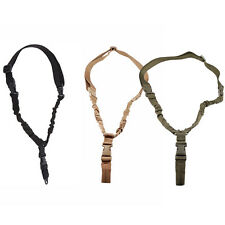 Tactical 1 Point Heavy Duty Quick Detach Stealth Bungee Sling For Rifle Shotgun