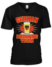 German Drinking Team Prost Beerfest Deustchland Oktoberfest Mens V-neck T-shirt