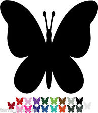 32 Butterfly STICKERS Any Colour Car / Wall Stickers Decals Graphics Butterflies