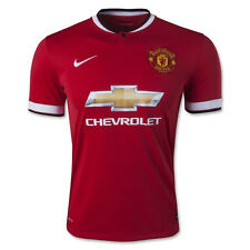 Nike 2014/15 Manchester United Mens Soccer Jersey Home Red NWT