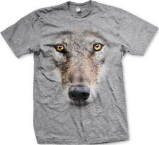 Wolf 3D Canine Dog Coyote One Man Pack Animal FREE SHIPPING New Mens T-shirt