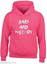 BARS AND MELODY ~ BRITAINS GOT TALENT ~ HIPSTER ~ CHILDS HOODIE ~ 5-15 YEARS