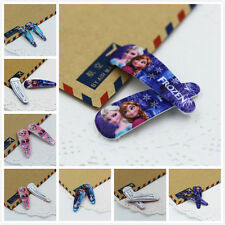 2Pcs Kids Cute Girls Frozen Queen Elsa Anna Aisha Hairpin Hair Accessories