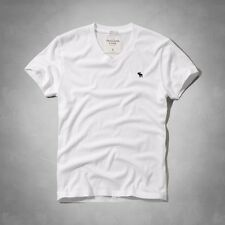 New NWT Abercrombie A&F by Hollister Men's V-Neck Tee Shirt Muscle Fit All Size