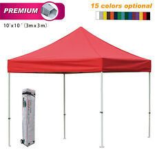 Eurmax Pop Up Tent  Premium 3x3m Aluminum Gazebo Instant Folding Marquee Shade