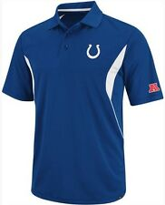 Indianapolis Colts NFL Team Apparel Field Classic Dri Fit Polo Shirt Big Sizes