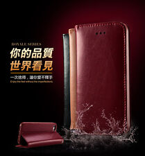 New KLD Genuine Leather Card Slots Flip Wallet Cover Case For Apple iPhone 5 5S