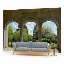Garden Arches Photo Wallpaper Wall Mural (CN-138P)