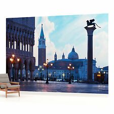 Venice Piazza San Marco Evening Photo Wallpaper Wall Mural (CN-338P)