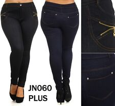 N21 WOMAN'S PLUS SIZE Denim Luxury JEGGINGS Jean Leggings Pants XL XXL JN060P