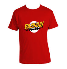Funny Bazinga T shirt, RED Bazinga The Big Bang Theory ALL sizes BAZINGA T shirt