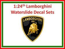 1:24 Lamborghini Murciélago water slide decal sets to suit Aoshima by Studio 27