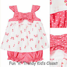 NWT Gymboree FLAMINGO FLAIR Girls Size 6 12 18 Months Bloomers & Top 2-Piece Set