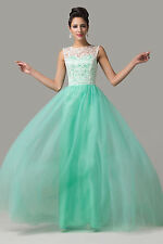Ladies Chiffon Evening Formal Party Gown Attire Prom Quinceanera Pageant Dress