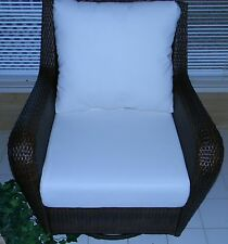 """24""""x24"""" Cushion Set for Patio Outdoor Deep Seat Furniture Chair-Choice of Solids"""