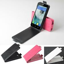 Luxury Leather Case For Alcatel Touch Idol Mini 6012X 6012A 6012W Smartphone UD