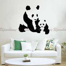 Animal Mother and Baby Panda Kids Children Room Wall Sticker Home Decor Decal