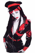 THE FEDERATION RUBBER LATEX MARILYN MANSON MILITANT DRESS ALL SIZES