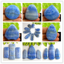 Wholesale Mixed Shape Beautiful Blue Agate Pendant Beads PF89100