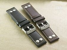 Genuine Leather band.bracelet.strap for HAMILTON khaki,X-WIND,or AVIATION QNE