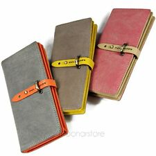 Hot Elegant Card Coin Holder Long Lady Purse Woman Clutch Wallet Leather Bag