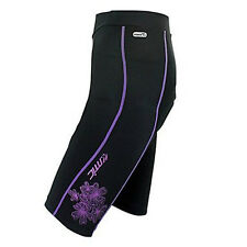 Women's Bicycle Cycling 3D Padded Bike Tights Capris Shorts 1/2 Pants Size S-XL