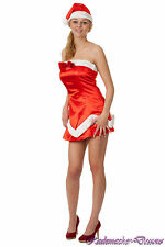 Sexy Santa Claus Fancy Dress Miss Santa Ladies Christmas Santa Christmas  7a5