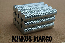 """14mm x 2mm Neodymium Magnets Rare Earth Magnets Disc Very Strong 9/16"""""""
