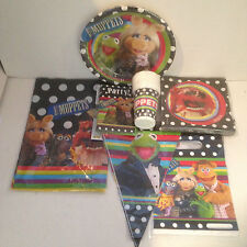 The Muppets Show Party Tableware & Decorations Kit for Kids - choose from list