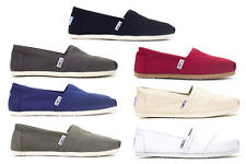 WOMENS Espadrilles Classic Canvas All Colors / All Sizes 100% AUTHENTIC Red