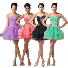 STOCK Sweet Girls Homecoming Short Prom Cocktail Bridesmaid Evening Party Dress