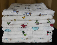 "NEW Aden and Anais 100% Muslin Cotton SWADDLE Baby Blanket - 47"" x 47"" Size cute"