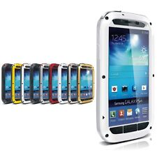 For Samsung Galaxy S4 Aluminum Metal Waterproof Rugged Protective Case LOVE MEI