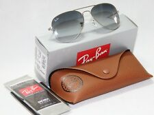 Ray Ban Aviator RB3025 003/32 all size Silver Frame Grey Lenses Gradient Unisex
