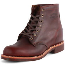 Chippewa 1901M25 Mens Leather Cherry Red Boots New Shoes All Sizes