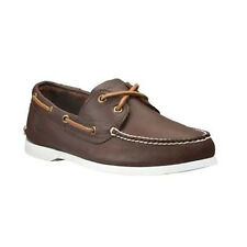 NWB Timberland Men's Earthkeepers Brig 2Eye Brown Boat Shoes Style #29574