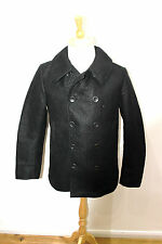 esemplare jacket made in italy £700 japanese fabric  reefer peacoat