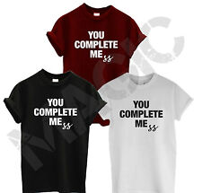 YOU COMPLETE MEMES 5SOS T SHIRT TOP LUKE HEMMINGS 5 SECONDS SUNNY TEE SUMMER NEW