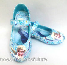 Hot New Blue Frozen Elsa Princess Shoes for Girls Kids Baby Shoes