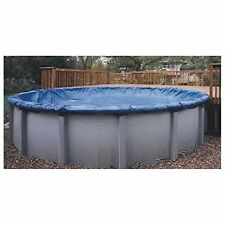 Winter Cover for AG Pools w/cable winch 4 Foot overlap Oval & Round High Quality