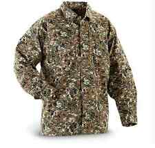 5.11 TACTICAL CAMO SHIRT SIZE S M TDU DIGITAL WOODLAND CAMOUFLAGE LONG SLEEVE