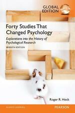 NEW Forty Studies That Changed Psychology by Roger R. Hock Paperback Book Free S