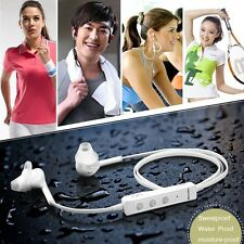 Bluetooth4.0 Wireless Stereo Sport waterproof Headset For Samsung iPhone 4 5S 5C