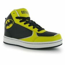 DC Comics Character Kids Boys Children Hi Top Sports Casual Shoes Trainers
