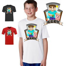 steve chicken and pig a whole world made for me tshirt childs or adults  youtube
