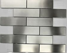 """ SUBWAY "" stainless steel mosaic tile backsplash tiles kitchen bar wall tiles"