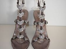 Evening Party Wedding Crystal Shine Shoes
