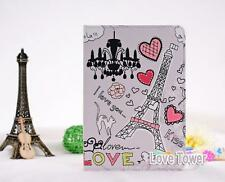 New Love Paris Tower PU Leather Stand Sleep Wake Case Cover For iPad 4 2 3 3LOP2
