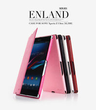 KLD Enland Slim PU Leather Flip Case Cover Pouch For Sony Xperia Z Ultra XL39