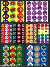 Scratch and Sniff Stickers-Teachers Awards/Rewards-Favours-Scratch n Sniff MERIT